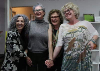Lorraine Massey book signing and silver hair reveal